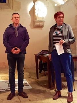 Première lecture à Saint-Roch